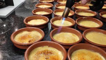 Dessert Catalan creme