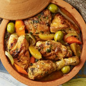 spiced-chicken-tagine-with-preserved-lemon-and-olives